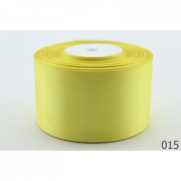 Фото Ленты, Лента атласная   однотонная ,5см Атласная лента 5 см , цвет  Жёлтый.