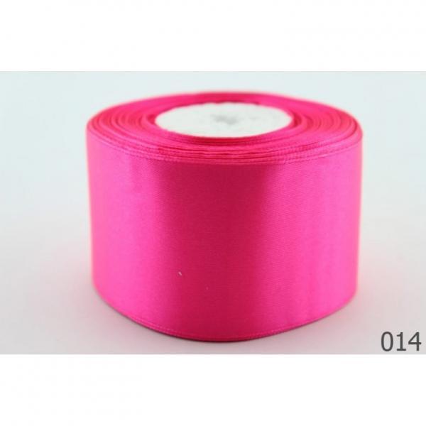 Фото Ленты, Лента атласная   однотонная ,5см Атласная лента 5 см , цвет  Розовый  яркий.