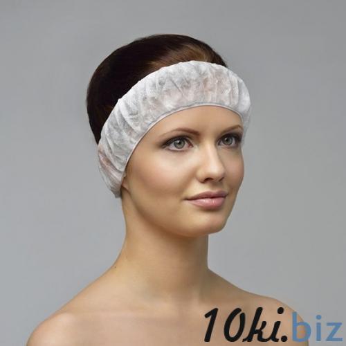 Фиксатор для волос, спанбонд, 10 шт/уп Шапочки для душа в России