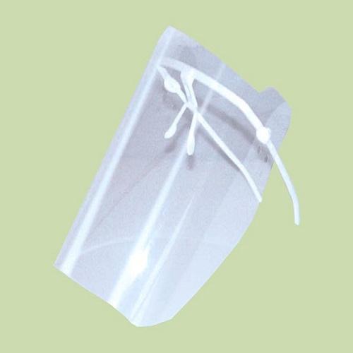 Маска пластмассовая прозрачная для защиты лица