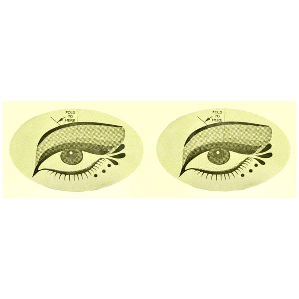 Наклейка на глаза для солярия