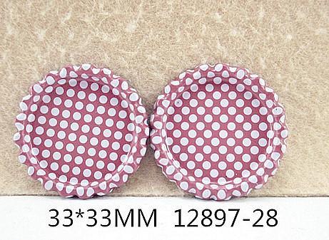 Фото Серединки ,кабашоны, Крышечки,эпоксидная наклейка Металические  крышечк   по  наружи  33 мм.  Внутрений  размер  25 мм.