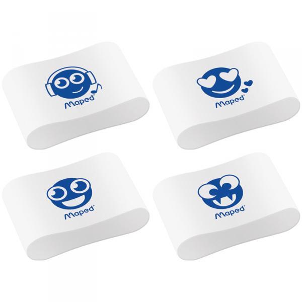 """Ластик Maped """"Essentials Soft"""" фигурный, пластик, 9,9Х33,5Х21,5мм"""