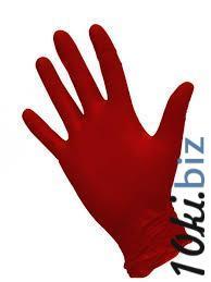 Перчатки нитриловые NitriMax, красный, размер S, 100 шт/уп - Перчатки медицинские в Санкт-Петербурге