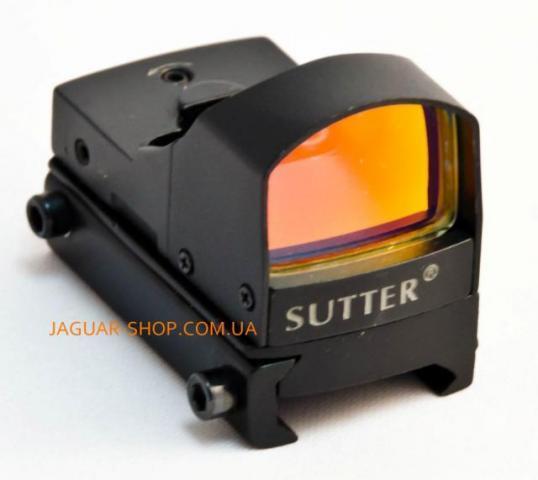 Прицел 1х17х25 Shutter/Arget Sport коллиматорный c креплением 21 мм на планку Weaver