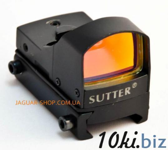 Прицел 1х17х25 Shutter/Arget Sport коллиматорный c креплением 21 мм на планку Weaver Прицелы и мушки в Украине