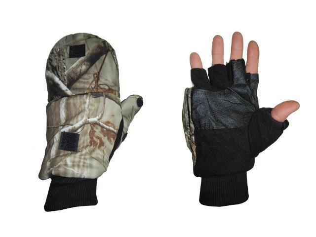 Перчатки  дубок со съемными пальцами G-3
