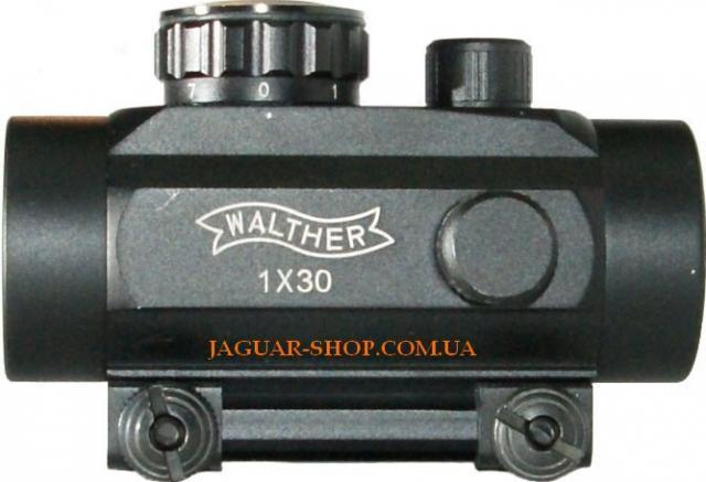 Прицел 1х30 Walter коллиматорный с креплением 11 мм