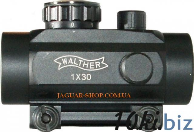Прицел 1х30 Walter коллиматорный с креплением 11 мм Прицелы и мушки в Украине