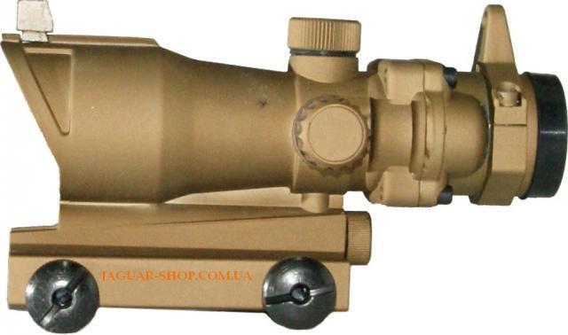Прицел 1х32 Sharpeye-2 коллиматорный коричневый с креплением 21/11 мм в комплекте