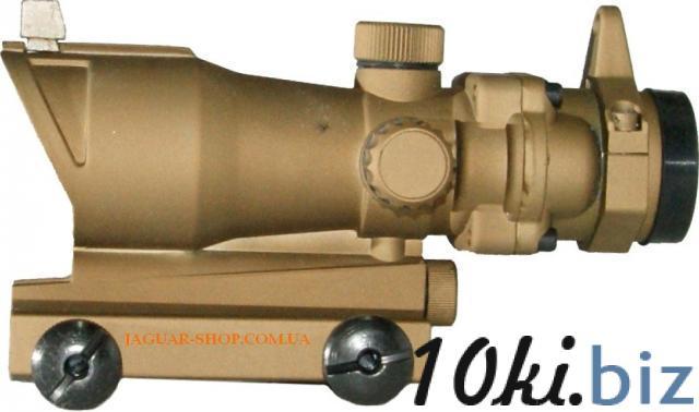 Прицел 1х32 Sharpeye-2 коллиматорный коричневый с креплением 21/11 мм в комплекте Прицелы и мушки в Украине