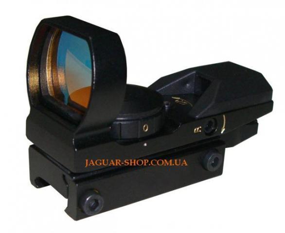 Прицел 1х22х33 Walter/HD коллиматорный (4 маркера, 2 цвета) крепление широкое