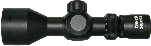 Прицел 3-9х42СЕ Tasco (короткий, 2 цвета) оптический