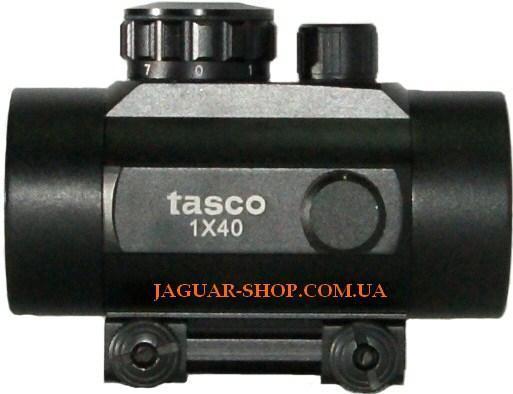 Прицел 1х40 Tasco коллиматорный с креплением 11 мм