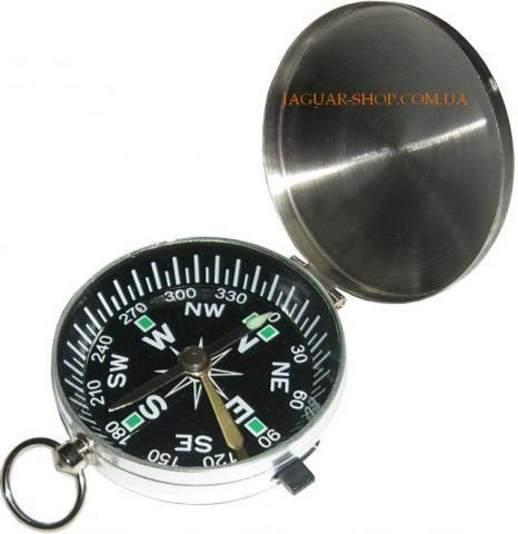 Компас медальон с фиксатором G-451