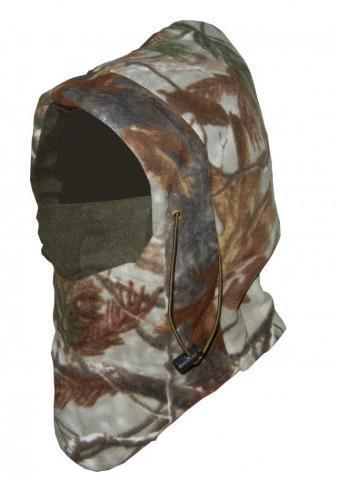 Шлем-маска флисовая дубок