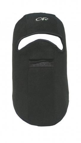 Шлем-маска флисовая черная