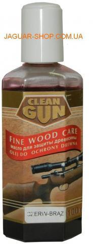 Масло для защиты древесины (красное) 100 мл