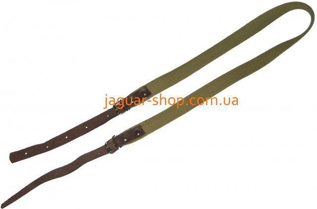 Ремень ружейный брезентовый, ширина 2,5 см