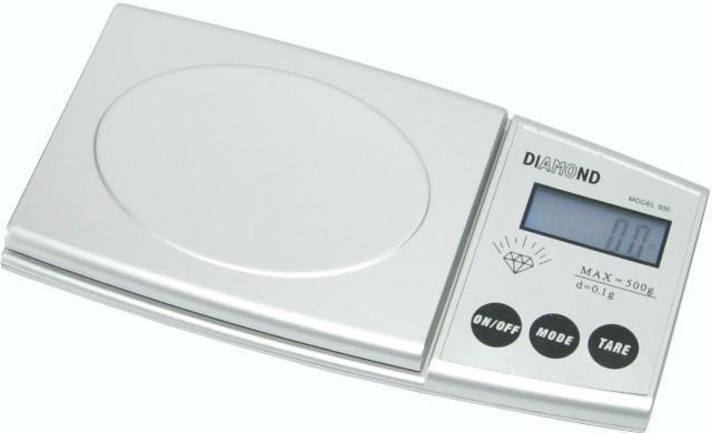 Весы электронные DY004 Diamond, max 500g