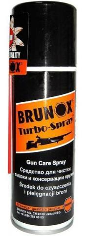 Средство BRUNOX Turbo-Spray для очистки, смазки и консервации оружия, 400 мл