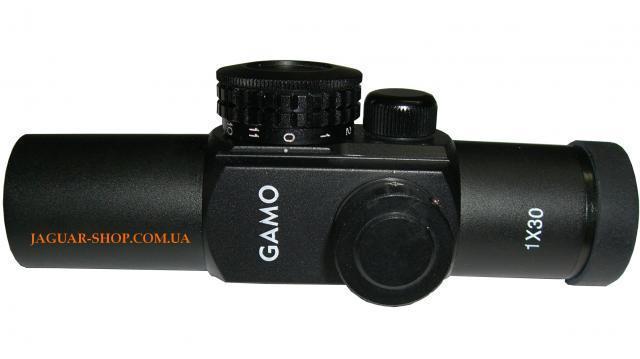 Прицел 1x30 Gamo коллиматорный  (4 маркера, D=30 мм)