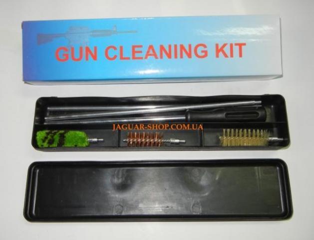 Набор для чистки оружия 16 калибр в пластиковой коробке