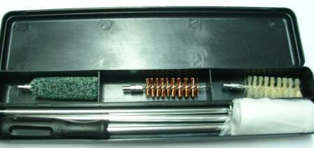 Набор для чистки оружия 20 калибр в пластиковой коробке
