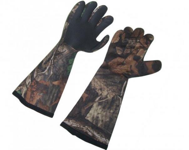Перчатки неопреновые длинные YD-HP1202