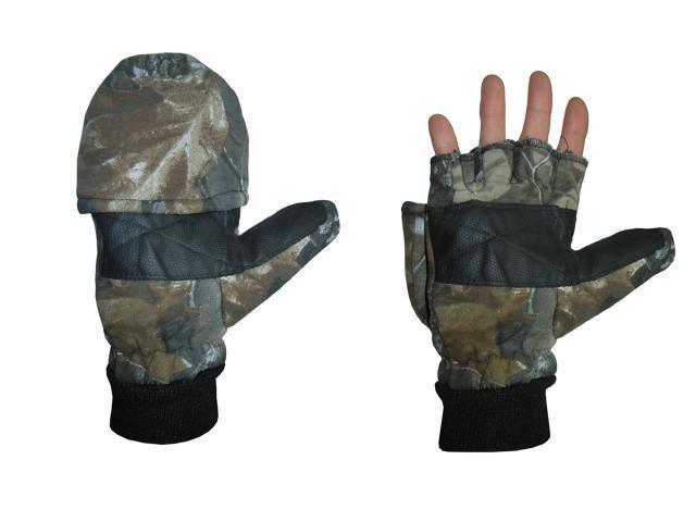 Перчатки  дубок Х/Б со съемными пальцами G-1