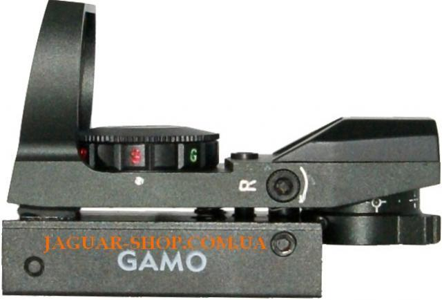 Прицел 1х23х34 GAMO/HD коллиматорный крепление 11 мм (4 маркера, 2 цвета)