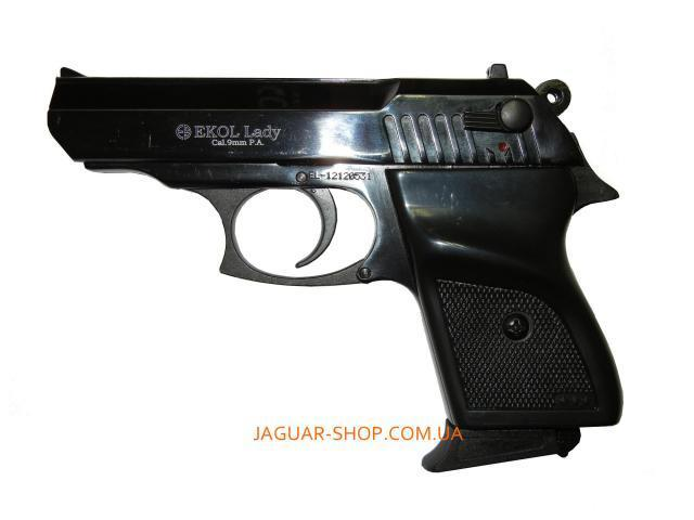 Пистолет сигнальный EKOL LADY черный