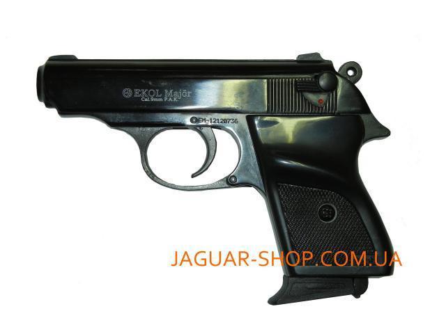 Пистолет сигнальный EKOL MAJOR черный
