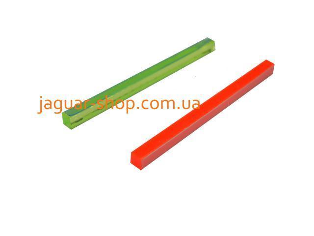 Мушка оптоволоконная стержень 3мм зеленая/красная