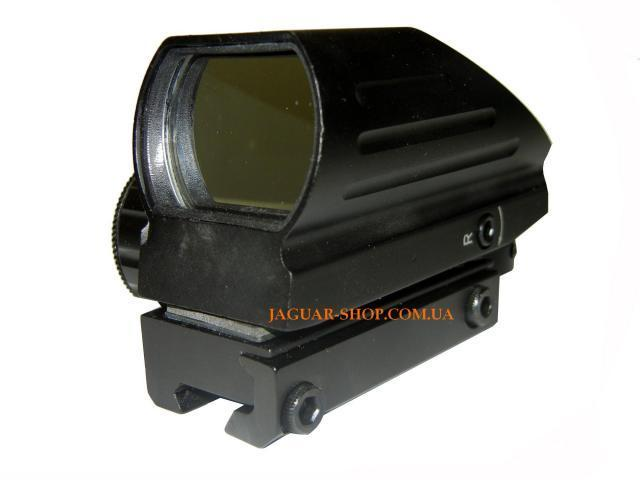 Прицел 1х22х33 HD103A коллиматорный, крепление 11 мм (4 маркера, 2 цвета)