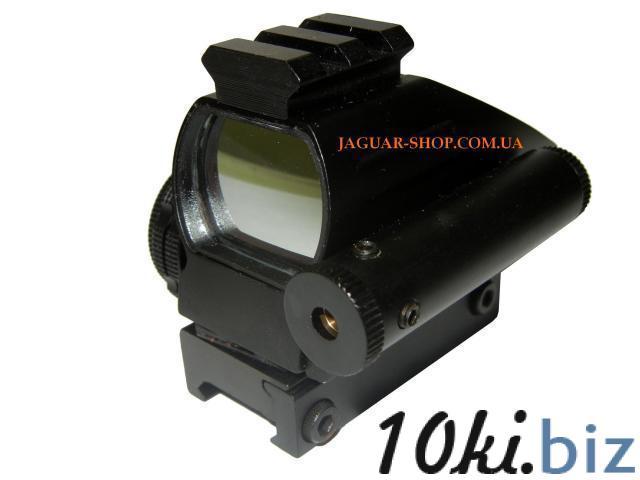 Прицел 1х22х33 коллиматорный с лазерным целеуказателем HD103С, крепление 21 мм, планка сверху (4 маркера, 2 цвета) Прицелы и мушки в Украине