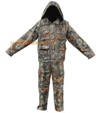 Костюм К-57С с капюшоном лес (куртка утепленная на флисе, брюки подклад)