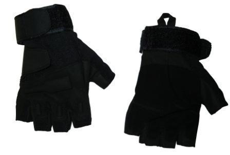 Перчатки N-1 без пальцев тактические кожа