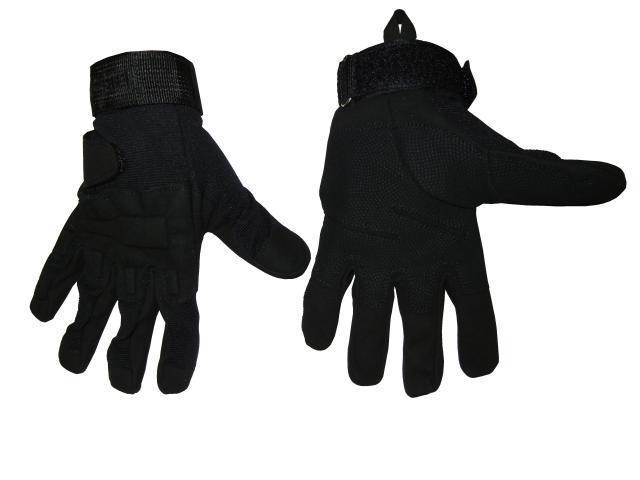 Перчатки N-3 тактические кожа Blachawk L-XL черные