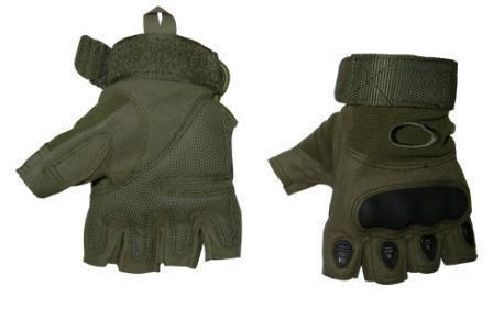 Перчатки N-2 б/пальц тактические кожа+ткань OAKLEY р.L-XL