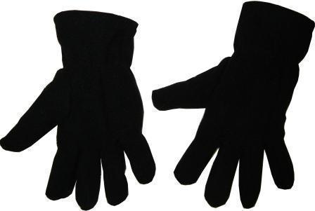 Перчатки флис черные