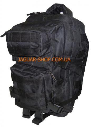 Рюкзак 36 л тактический черный