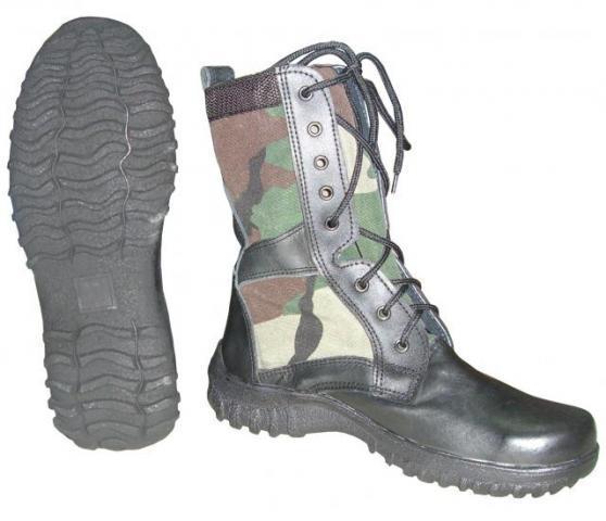Фото Одежда, Обувь Берцы охототничьи легкие (камуф.вставка)