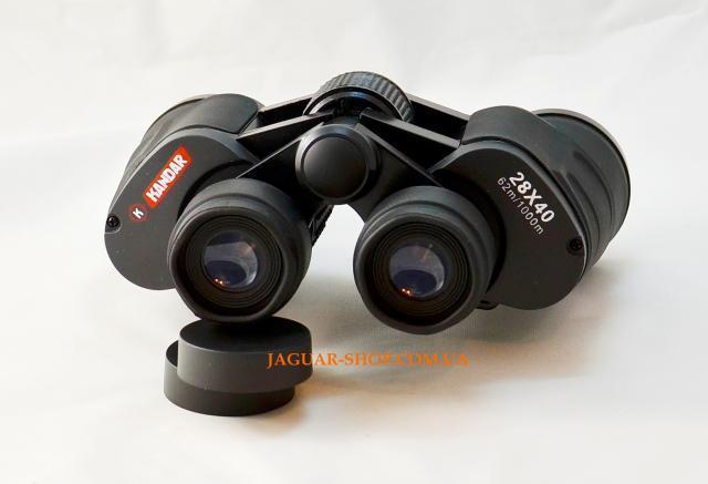 Фото Оптика, Бинокли Бинокль 28х40 KanDar черный