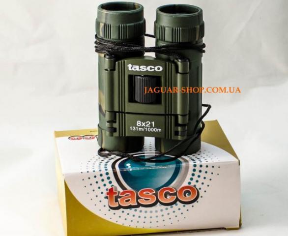 Бинокль 8х21 Tasco камуфляж