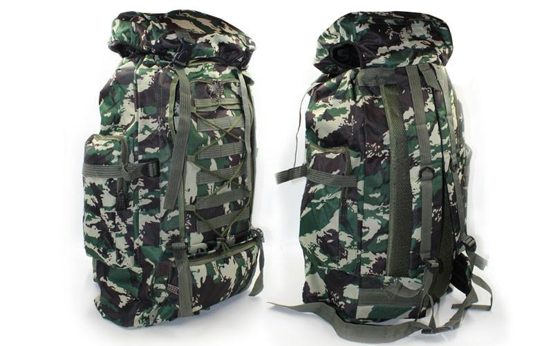 Рюкзак туристический (тактический) V-40л TY-4724-2 (PL,NY,р-р 58х36х16см, камуфляж Woodland)