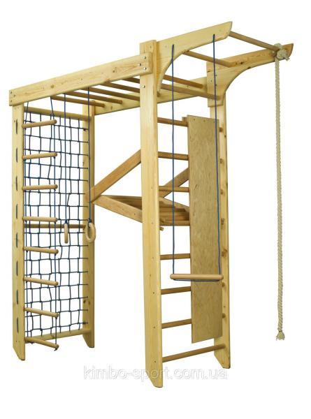 """Спортивный комплекс """"Kinder - 5"""", 220 см.,  деревянный"""
