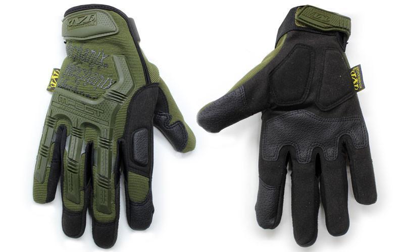Перчатки тактические MECHANIX WEAR BC-4698-G (PL, закрытые пальцы, р-р L-XL, оливковый)