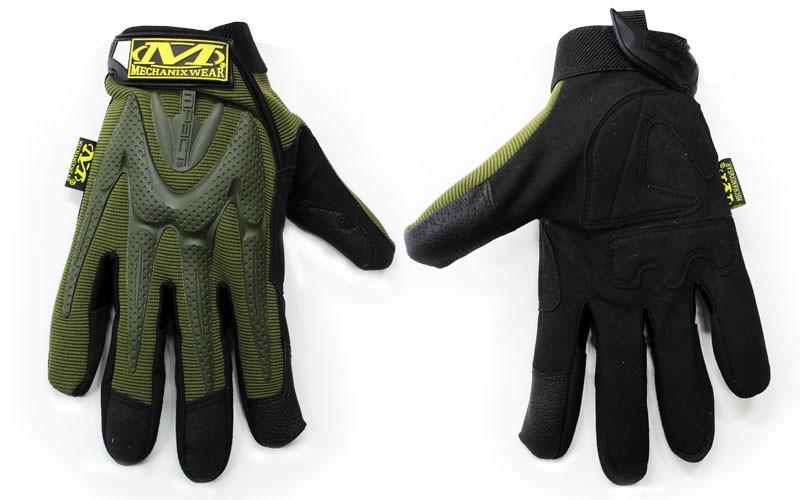 Перчатки тактические MECHANIX WEAR BC-4699-H (PL, закрытые пальцы, р-р L-XL, оливковый)