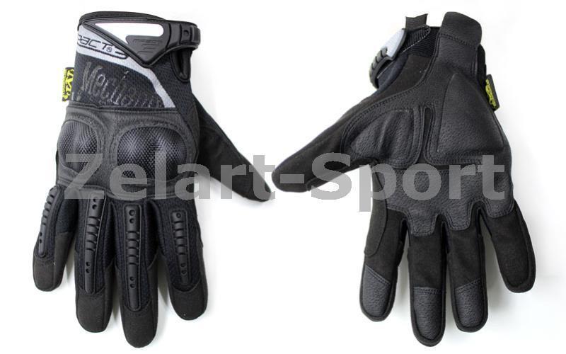 Перчатки тактические MECHANIX MPACT 3 BC-4923-BK (PL, закр. пальцы, протектор-усил, р-р M-XL, черн)